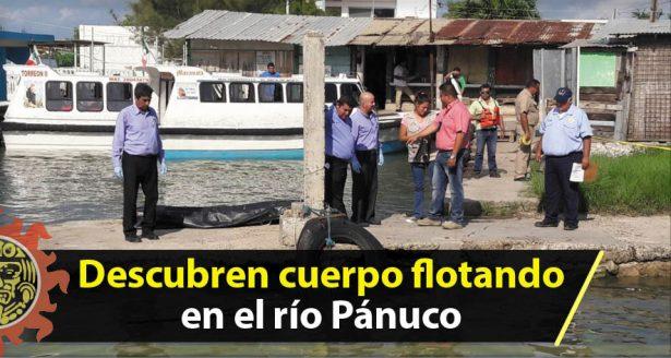 Boteros del Paso de El Humo descubren cuerpo flotando en el Pánuco