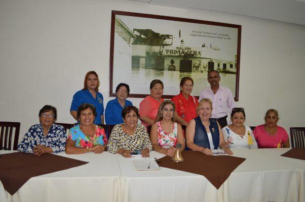 Cambia de Directiva el Club de Leones Tampico Miramar
