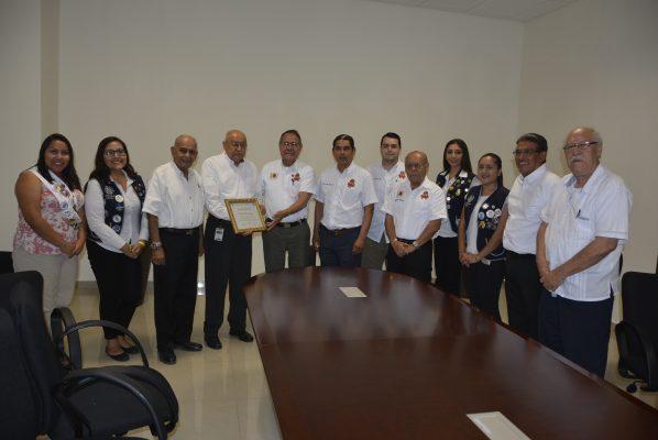 Club de Leones de Tampico Entrega Reconocimiento a El Sol de Tampico
