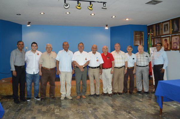 Junta de Trabajo del Club de Leones de Tampico