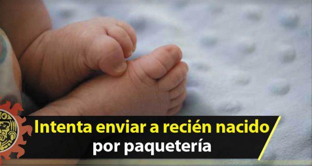 Envuelve a su bebé en bolsas de plástico para enviarla por correo a un orfanato