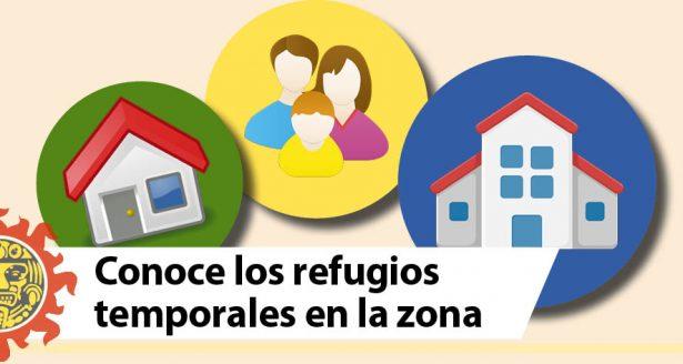 Conoce los refugios temporales en la zona sur de Tamaulipas