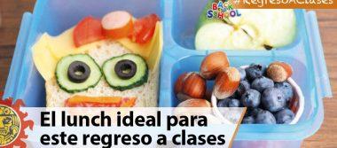 Conoce el lunch ideal para este regreso a clases