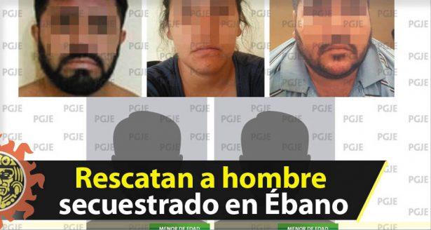 Rescatan a hombre secuestrado en Ébano