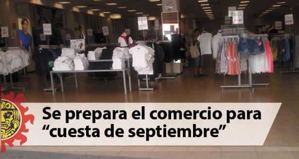 """Se prepara el comercio para """"cuesta de septiembre"""""""