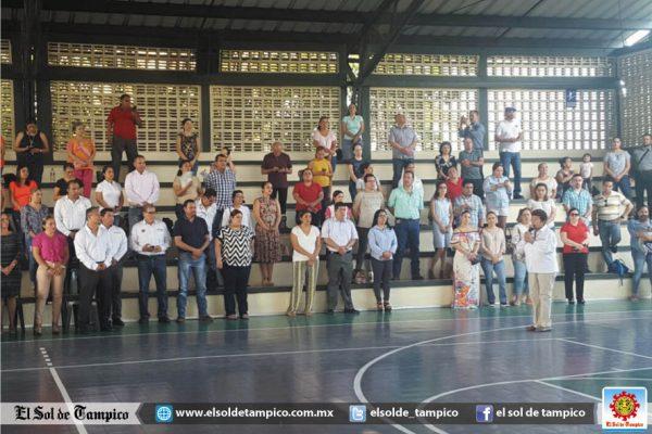 Alcaldesa de Tampico inaugura el Campeonato Deportivo 2017 en el Anglo