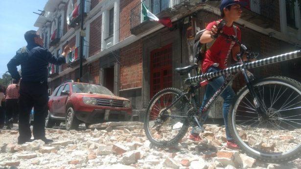 Fuerte sismo de 7.1º en la CDMX