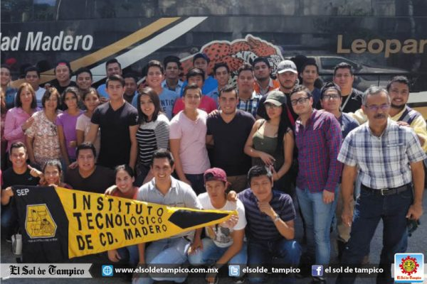 Estudiantes del Tecnológico de Madero emprenden viaje para apoyar en Tlalpan