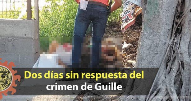 Dos días sin respuesta del crimen de Guille