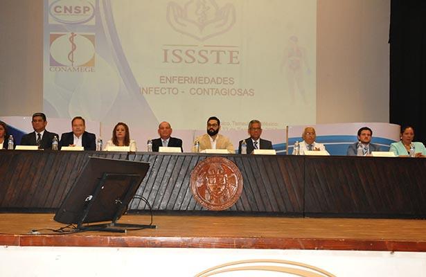 Inician conferencias con motivo del 51 Aniversario del ISSSTE Tampico