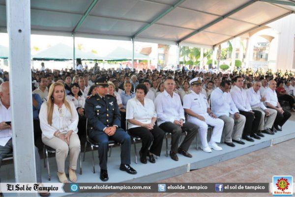 Realizan ceremonia del 188 Aniversario de la Batalla de Tampico