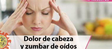 Dolor de cabeza y zumbar de oídos son síntomas de riesgo en embarazo