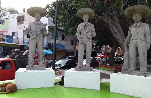 Plaza del Mariachi en el total abandono
