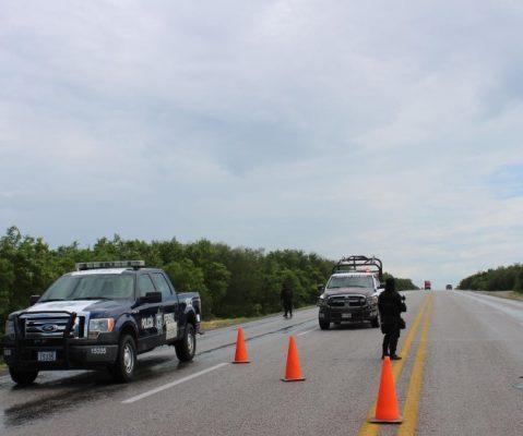 Carreteras y brechas de San Fernando y Méndez vigiladas por Fuerza Tamaulipas