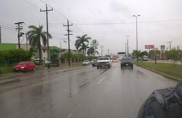 Continuará lloviendo hasta el domingo, advirtió Protección Civil