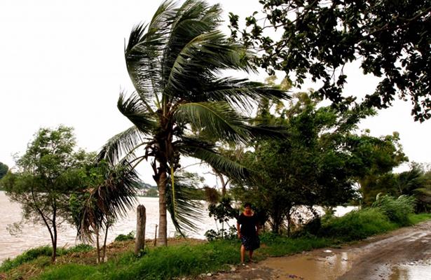 """Veracruz siente los efectos del huracán """"Katia"""""""