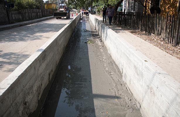 Reconoce Conagua trabajo preventivo del Gobierno de Madero en limpieza de drenes