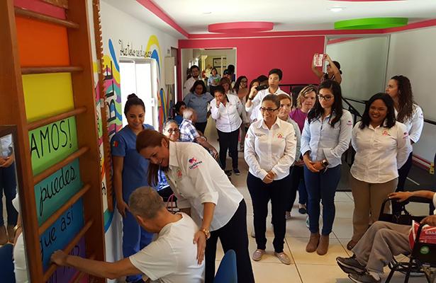 Inaugura el DIF Madero los Murales Sensoriales y Motivacionales