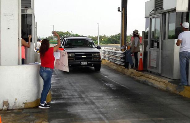 Liberan de pago de cuota de peaje el Puente Tampico