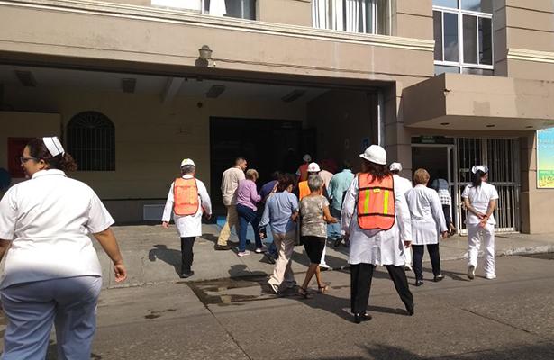 Simulacro en Pemex movilizó a personal