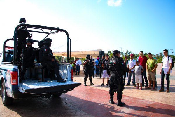 Busca Madero reclutar más aspirantes a policías estatales