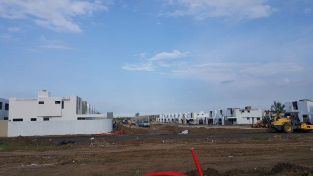 Industria inmobiliaria da respiro a obreros