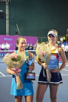 Irina Falconi se proclamó campeona del Abierto Tampico de Tenis Profesional Femenil 2017