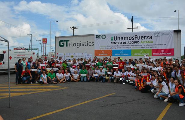 #UnamosFuerza Envía 20 toneladas de ayuda a Oaxaca