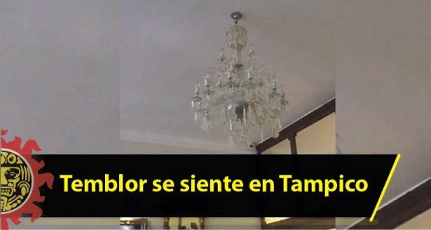 Temblor se siente en Tampico