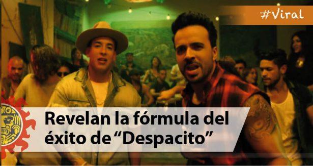 "Revelan la fórmula del éxito de ""Despacito"""