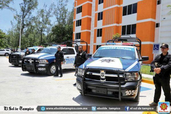 El Gobernador del Estado planea entregar entre 20 y 30 patrullas más a la Policía Estatal