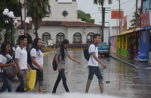 """Persistirán lluvias por """"Katia"""" hasta el sábado"""