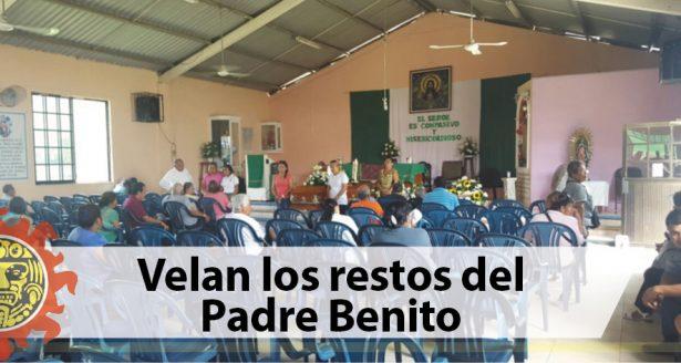 Velan los restos del Padre Benito
