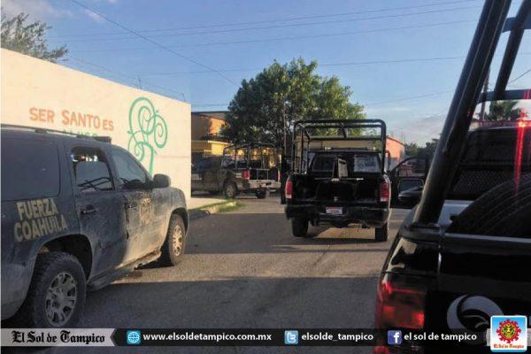 Encuentran Patrulla de Fuerza Tamaulipas abandonada en Piedras Negras