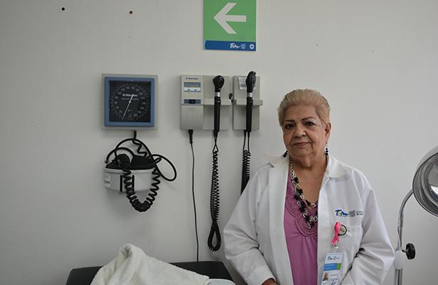 """Dra. Ramona Valay:  """"No sólo se atiende a la enfermedad sino también al paciente"""""""