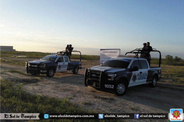 Aseguran terreno en Altamira a Eugenio Hernández Flores