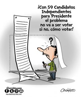 Boleta Electoral 2018