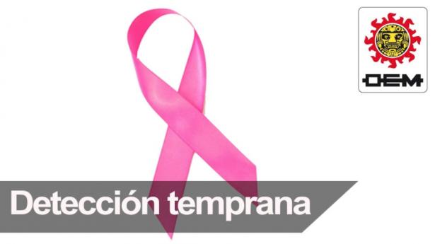 Detección temprana del cáncer de seno, vital para su prevención