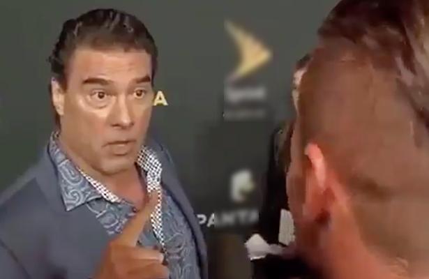 Eduardo Yáñez cachetea a reportero; podría ir a la cárcel