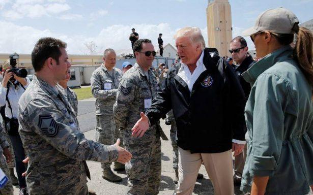 Puerto Rico no sufre una catástrofe real como la del huracán Katrina: Trump
