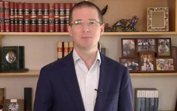 Anaya: Respeto decisión de Margarita Zavala, pero está equivocada; solo se beneficiará al PRI