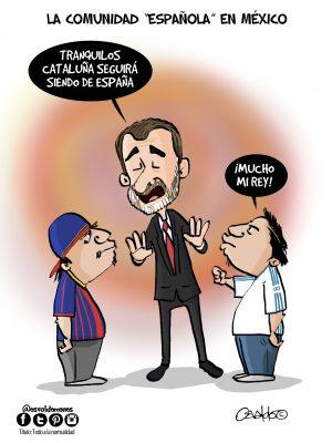 """La comunidad """"Española"""" en México"""