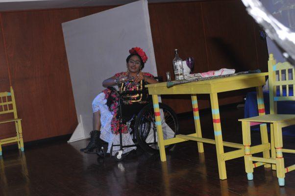 Frida Kahlo… Viva la Vida Obra Presentada en la Clausura del Festival de Teatro Bocana