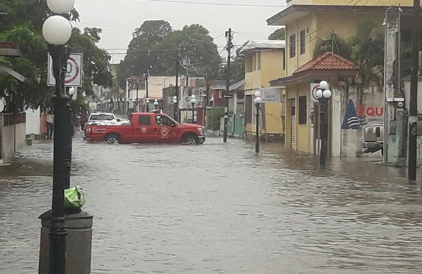 Tampico, la ciudad donde más llovió: CONAGUA