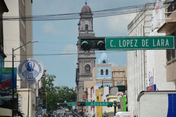 Sin semáforos también la Zona Centro de Tampico