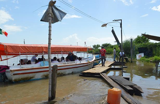 Colocarán cámaras de vigilancia en pasos de lancha del Río Pánuco y detectores en límites con Veracruz