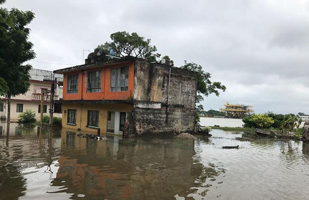 Protección Civil en alerta por crecimiento del río Pánuco