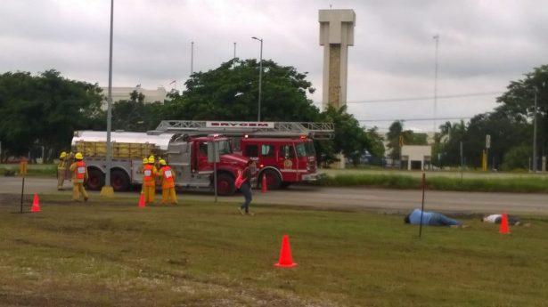 AISTAC lleva a cabo el Noveno Macro Simulacro en la zona industrial de Altamira