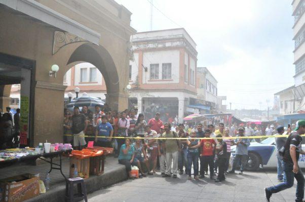 Incendio genera terror en la zona centro Tampico