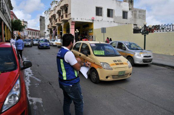 Multiplica transporte urbano operativos de inspección en carros de ruta